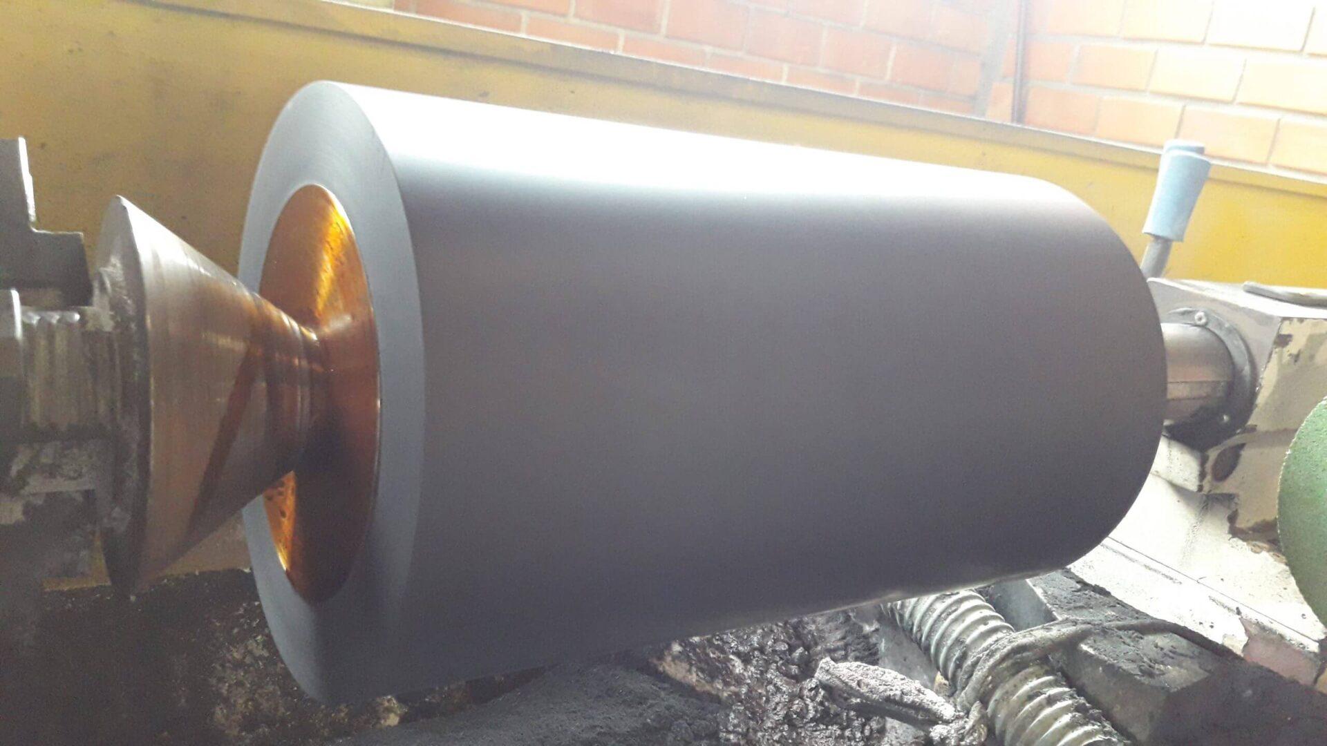 Fabricas de Embalagens -  Revestimento de Cilindro de Borracha